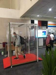 PT AP II Sediakan Ruang Sterilisasi di Kualanamu Cegah Penumpang Tertular Covid 19