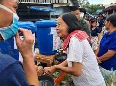 Cegah Covid-19, Anggota DPRD Nias Utara Siapkan Tempat Cuci Tangan