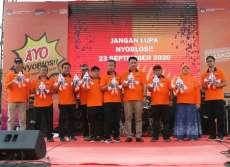 KPU Launcing Maskot dan Jingle Pilkada Medan Warga Diajak Gunakan Hak Pilih