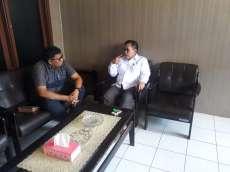 Air  Tidak Mengalir, Anggota DPRD Karo Sidak ke PDAM Tirtanadi di Berastagi