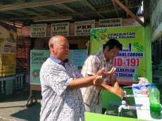 Antisipasi Covid-19, Desa Kalang Siapkan Wastafel Cuci Tangan