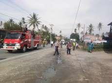 Penyemprotan Disinfektan Secara Massal di Tiga Binanga