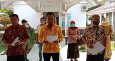 Dinas PMDK Labuhanbatu Deklarasi Gerakan Desa Melawan Covid-19