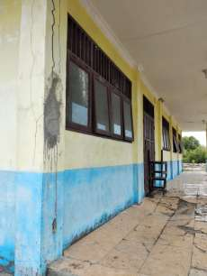 Gedung SMKN 1 Medang Deras Dikhawatirkan Roboh,Pelajar Dibayangi Rasa Takut