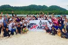 Nikmati Keindahan Alam, Komunitas X-moc Pengguna Ngegas Xpander Ke Pulau Pahawang