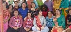 Badikenita Putri Sitepu Kunjungi GBKP Runggun Sei Segiling