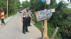 Longsor dan Jalan Rusak di Pancurbatu, Arus Lalulintas Lambat