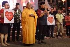 Warga Lintas Agama di Jakarta Gelar Aksi Kemanusiaan untuk Korban Virus Corona