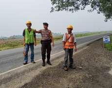 Pekerja Tol dan Pengguna Jalan Diimbau Hati-hati
