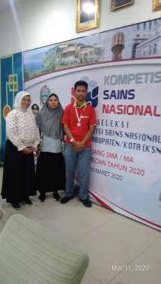 Siswa SMAN 13 Medan Raih Medali Perunggu di KSN Kota Medan