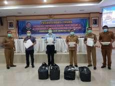 Sejumlah Swasta Serahkan Bantuan APD ke Pemkab Deliserdang