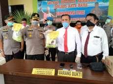 Polres Batubara Gagalkan Peredaran 2 Kg Sabu Asal Aceh, 2 Tersangka Ditembak