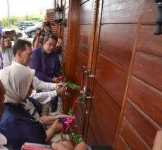 Resmikan Galeri Batik dan Tenun Tapsel, Syahrul Berharap Promosinya Mendunia