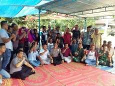 Jaringan Listrik Masuk, Warga Dusun III Desa Bukit Kijang Gelar Syukuran