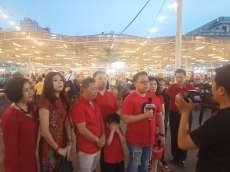 Meriah, Festival Seni Etnik, Modern dan Kuliner di Medan Night Market