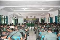 Tim Kodam I/BB Berikan Penyuluhan Hukum bagi Prajurit Korem 023/KS