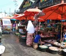 Pedagang Pajak Simpang Limun Turun Omzet 50 Persen Akibat Virus Corona
