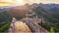 Wabah Corona di China Reda, Tembok Raksasa Dibuka Lagi untuk Turis
