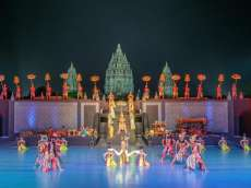 Raja dan Ratu Belanda Kagum Saksikan Sendratari Ramayana
