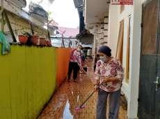 Polres Tapteng Imbau Masyarakat Jaga Kebersihan Lingkungan