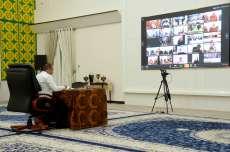 Gubernur Edy Minta Bupati dan Wali Kota Paksa Rakyat untuk Tetap di Rumah