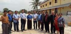 Pendeta Berterima-kasih pada Donatur yang Timbun Lahan HKBP Sukamandi Deliserdang