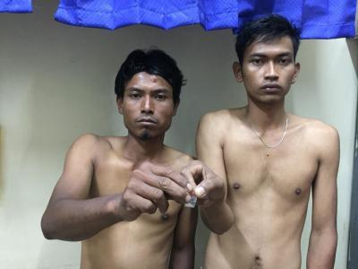 Polres Samosir Tangkap Dua Pemilik Sabu