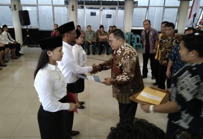 254 CPNS di Lingkungan Pemkab Dairi Terima SK Pengangkatan
