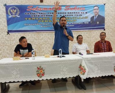 Drs Hendrik H Sitompul MM : Sudah Ada Perda, Masalah Sampah Belum Terselesaikan