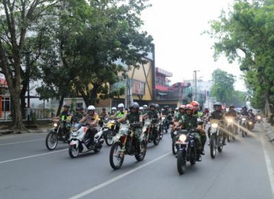 Pemilu 2019 di Sumut Aman, Polri dan TNI Patroli Skala Besar