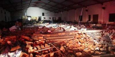 13 Orang Tewas Tertimpa Tembok Gereja di Afsel