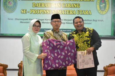 Pertemuan Dharmayukti Karini se-Sumut Dipusatkan di Tanjungbalai