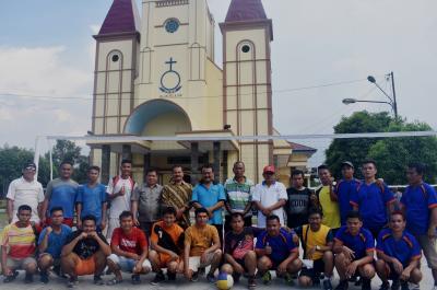 HKBP Resort Jalan Pelajar Medan Gelar Turnamen Bola Voli, Pelajar B Juara