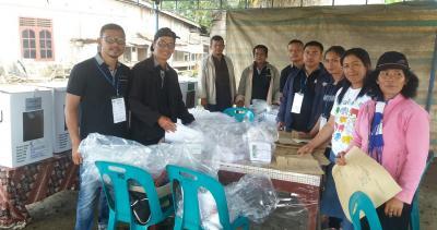 Petugas KPPS Tidak Tidur Sukseskan Pemilu di TPS 9 Pamatangraya