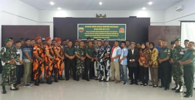 Zidam I/BB Gelar Komsos dengan Masyarakat di Medan