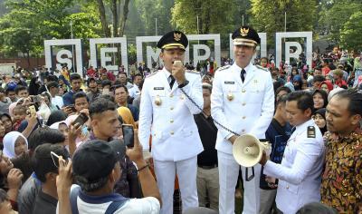 Anies Hingga Zulkifli Hasan Hadiri Inagurasi Walkot Bogor Bima Arya