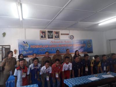 Kacabdis Siantar Buka Lomba LKS SMK se-Kota Pematangsiantar