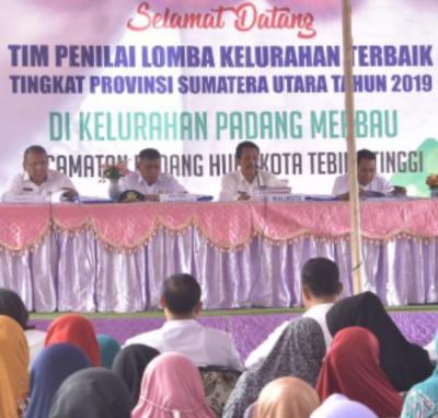 Tim Penilai Kelurahan Sumut  Kunjungi Tebingtinggi