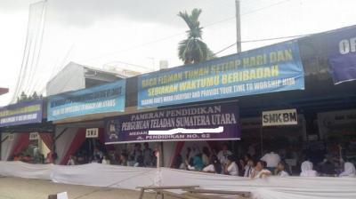 Pameran Pendidikan Perguruan Teladan Sumatera Utara Sukses