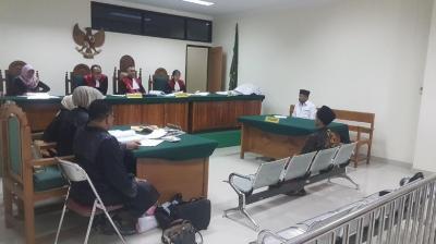 Terdakwa Caleg PKB di Banten Ngaku Khilaf Deklarasi Jokowi-Ma'ruf di Musala