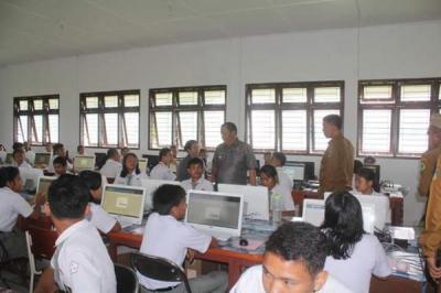 Hasil UNBK, Seluruh Siswa SMA dan SMK di Samosir Lulus