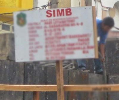 IMB, Pembangunan Perumahan Duta Disorot