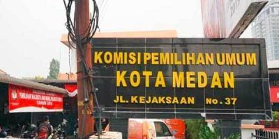 KPU Medan akan Pidanakan Ketua dan Anggota PPK Empat Kecamatan