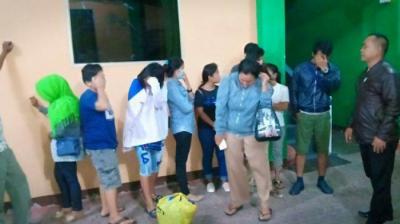 Razia Tim Gabungan di Binjai, 19 Orang Terjaring
