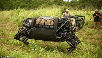 Militer Korsel Bakal Gunakan Robot Hewan pada 2024