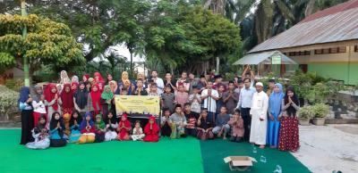Bank Mandiri Area Rantauprapat  Berbuka Puasa Bersama Anak Yatim