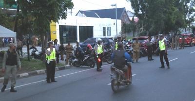 Tim Pemantau Asmara Subuh Amankan Dua Sepedamotor Tanpa Dokumen