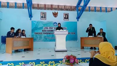 16 Tim SMA Negeri dan Swasta Kota Medan Ikut Lomba Debat Bahasa Indonesia