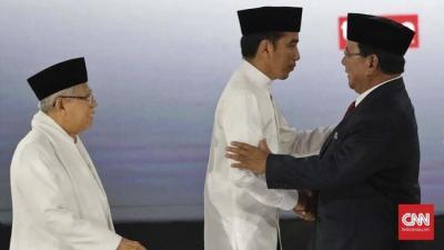 Cerita Luhut Soal Keakraban  Jokowi dan 'Mas Prabowo'