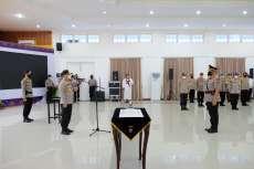 Brigjen Pol Drs Tabana Bangun Resmi Jabat Wakapolda Riau